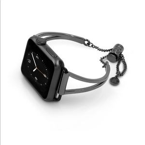38mm Black Metal Band For Apple Watch